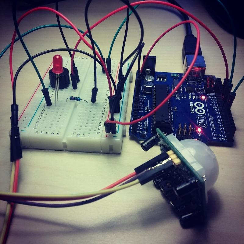 wykrywanie ruchu arduino