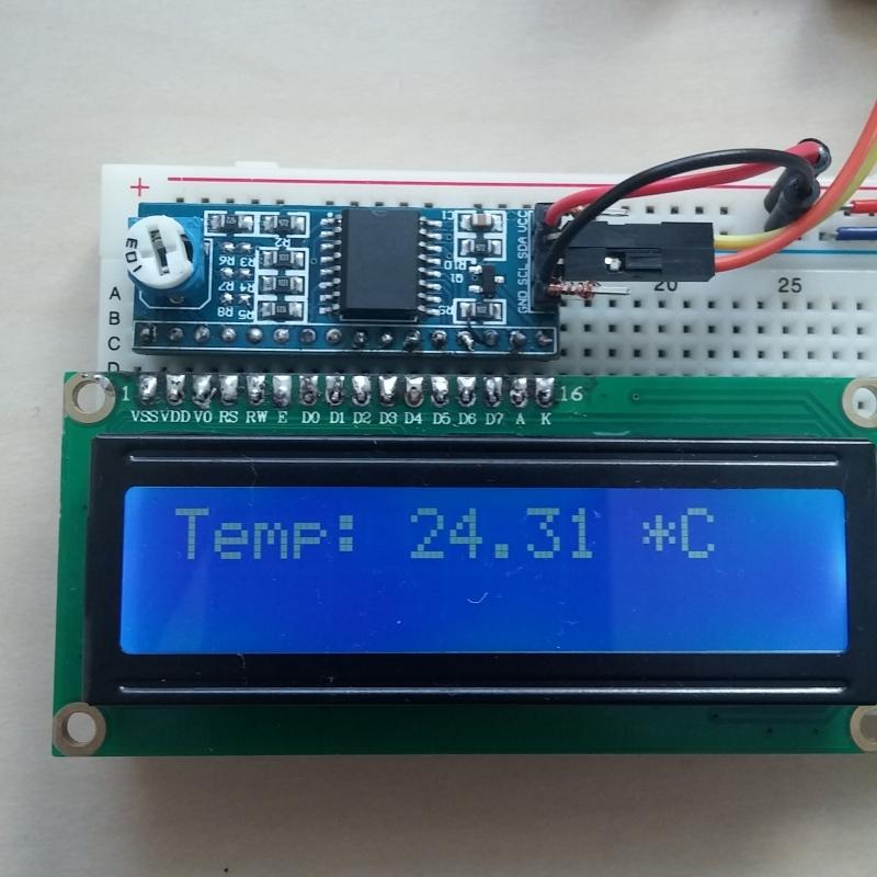 Wyświetlacz LCD 2x16