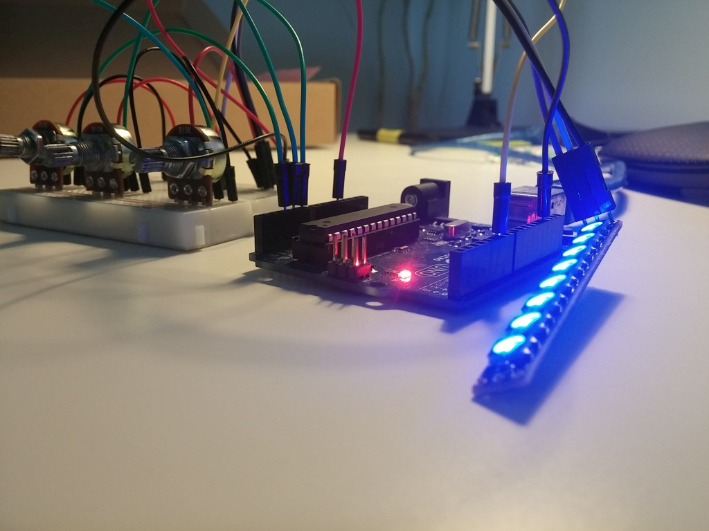 Arduino i diody rgb ws b